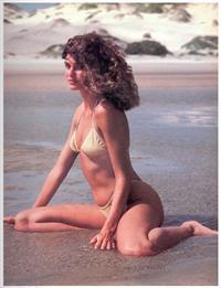 Carol Alt in a bikini