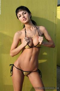 Roxanne Milana in a bikini