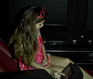 Selena Gomez Bootsie Bellows West Hollywood on June 26, 2012