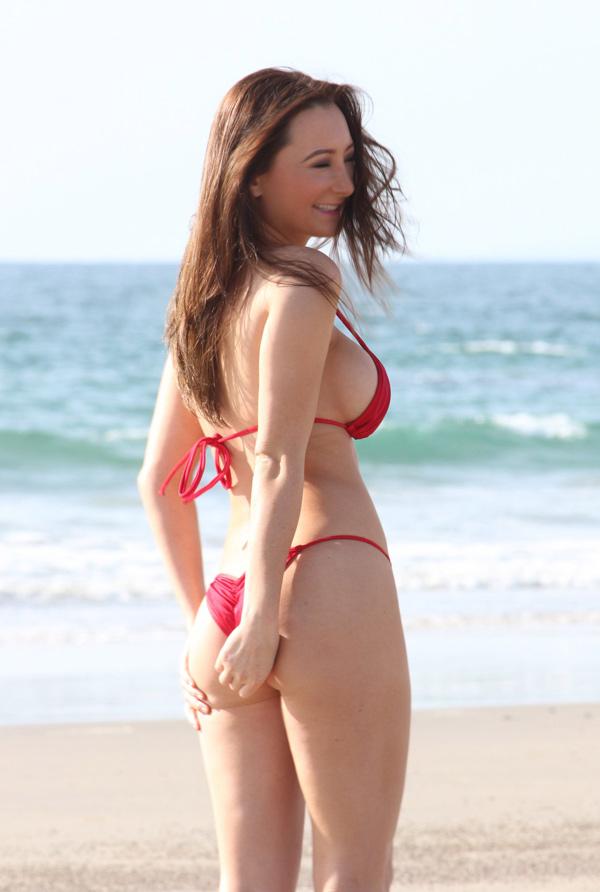 Amy Markham in a bikini - ass
