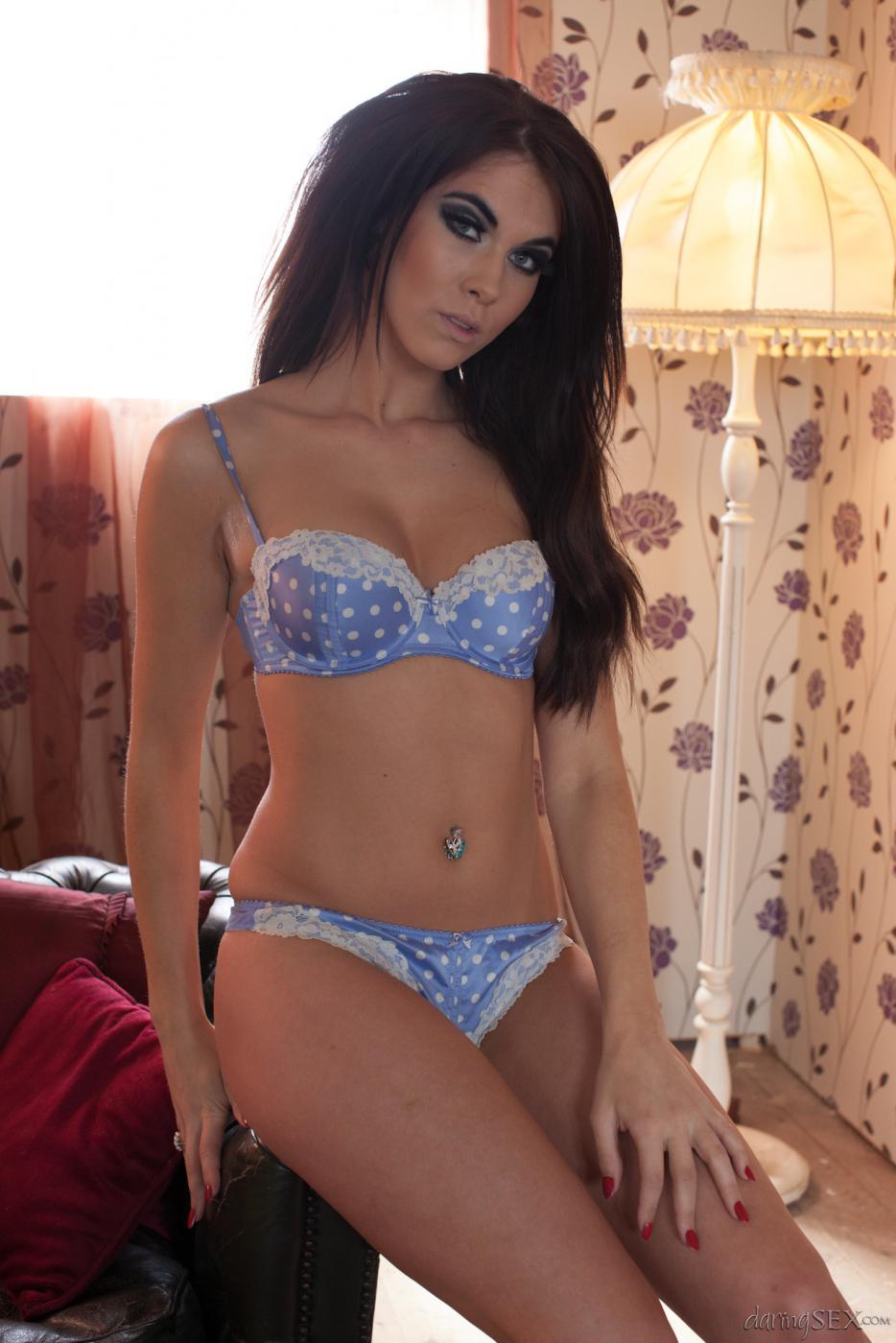 Megan Coxx in lingerie