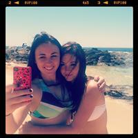 Rachel Fox taking a selfie