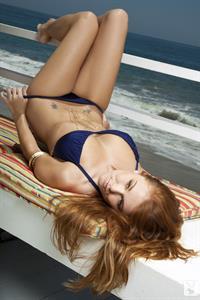 Leanna Decker in a bikini