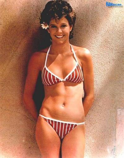 Kristy McNichol in a bikini