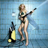 Sonya Kraus in a bikini