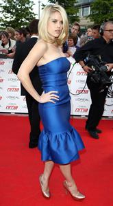 Alice Eve National Movie Awards in London on May 11, 2011