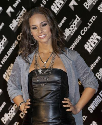 Alicia Keys Element of Freedom Album Promotion Tokyo on January 14, 2010