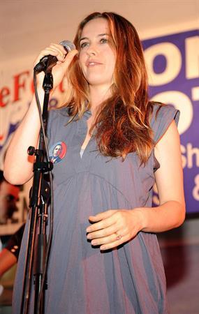 Alicia Silverstone Votefest 2008 at North Shore Bandshell in Miami Beach