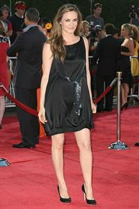 Alicia Silverstone Tropic Thunder premiere in Los Angeles