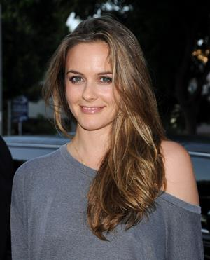 Alicia Silverstone attending the Pineapple Express Premiere in Westwood