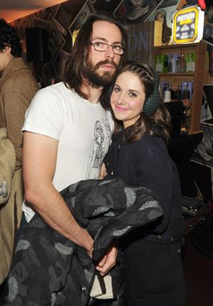 Alison Brie Puma Social Lounge at Sundance Festival in Park City on January 20, 2012