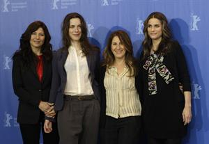 Amanda Peet attends the International Film Festival in Berlin on Feburary 16, 2010