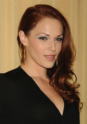Amanda Righetti Forevermark and Instyle Golden Globes Event on January 10, 2012