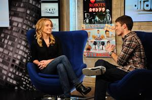 Amber Heard Attack of the Show and Soon the Darkness on December 20, 2010