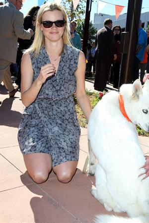 Amy Smart at the Best Friends Animal society Pet Adoption in Los Angeles on February 16, 2012