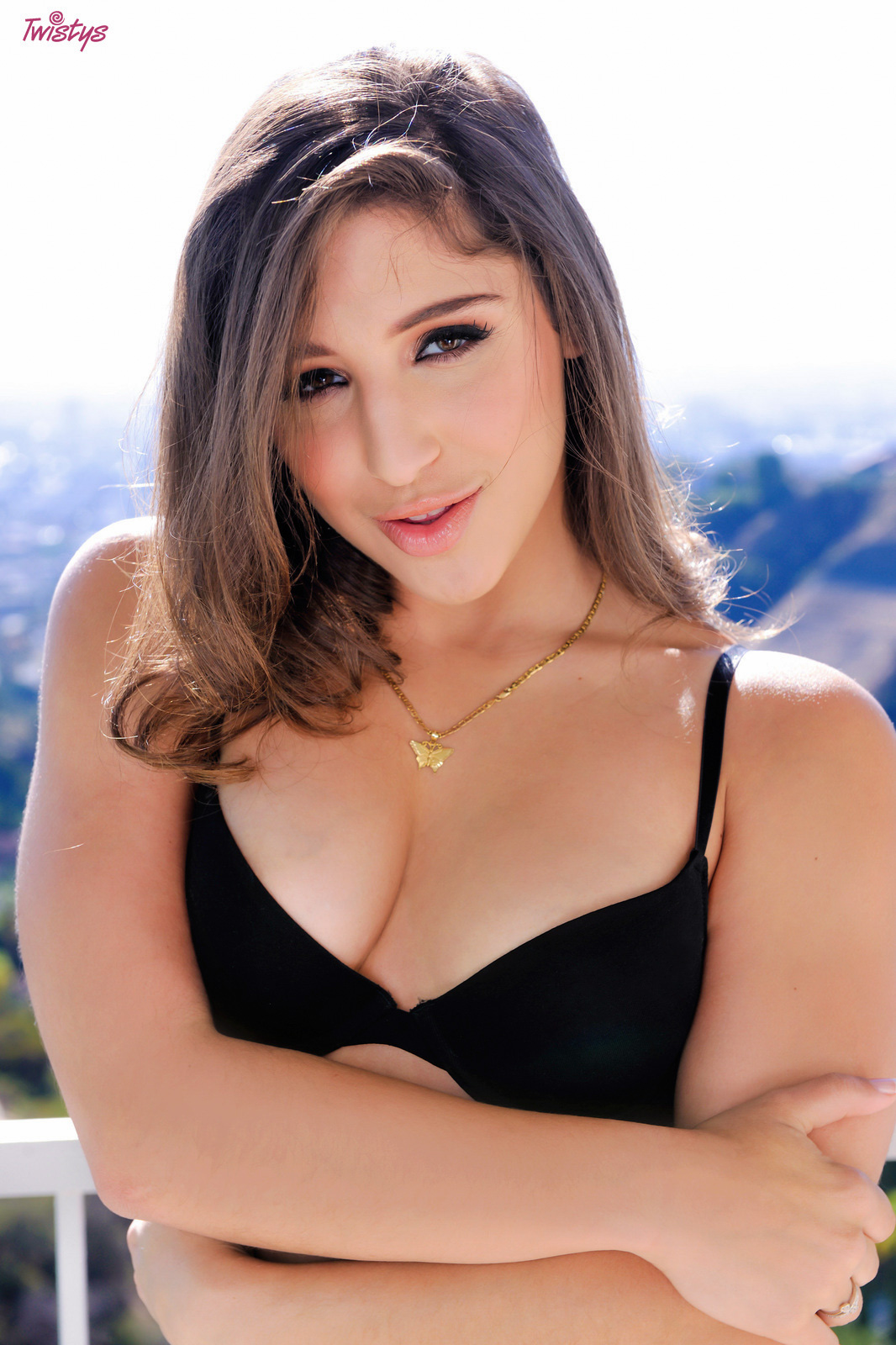 The View!.. featuring Abella Danger | Twistys.com