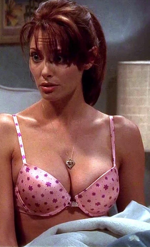 April Bowlby in lingerie
