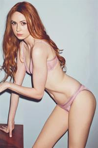 Karen Gillan in lingerie