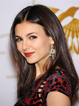 Victoria Justice LoveGold Cocktail Party in West Hollywood 2/21/13