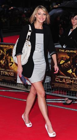 Ali Bastian World Premiere of Clash of the Titans in London on March 29, 2010