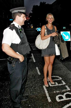 Ali Bastian Beau Bronz London on Aug 17, 2011