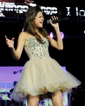 Selena Gomez KIIS FM's Wango Tango on May 14, 2011