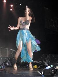 Selena Gomez performing in Copps Colisium in Ontario on October 29, 2011