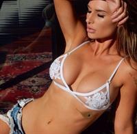 Rosanna Arkle in lingerie