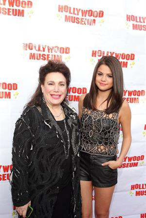 Selena Gomez at the Marilyn Monroe exhibit at the Hollywood Museum on May 30, 2012