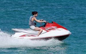 Selena Gomez on vacation in Mexico on December 7, 2011