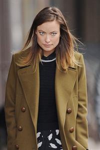 Olivia Wilde in New York 10/11/13
