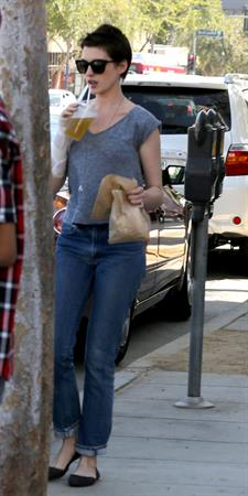 Anne Hathaway in West Hollywood June 21, 2012