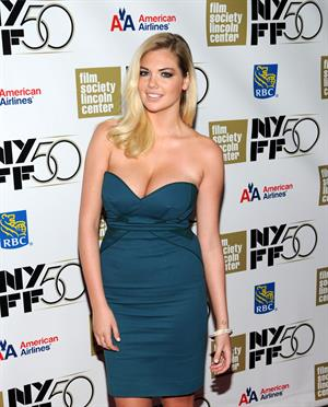 Kate Upton  No  Premiere in New York Film Festival - October 12, 2012