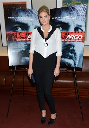 Kate Upton Argo screening in New York - October 9, 2012