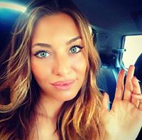 Alessia Tedeschi taking a selfie