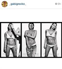 Gabi Grecko in a bikini