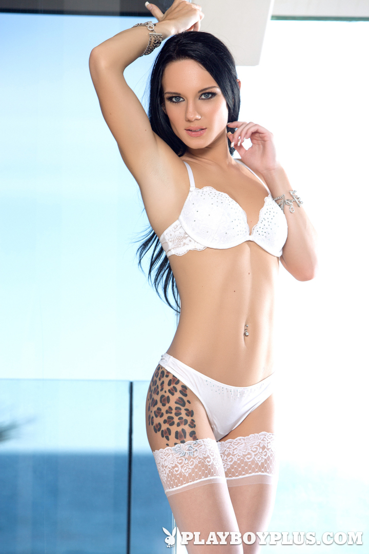 Playboy Cybergirl - Meghan Leopard Nude Photos & Videos at Playboy Plus!