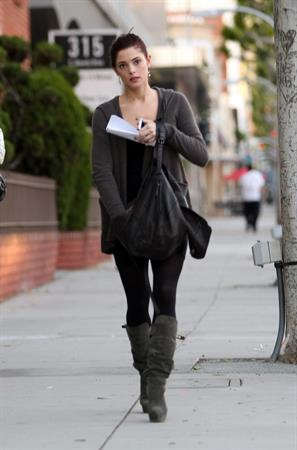 Ashley Greene out and about in Beverly Hills on November 29, 2010