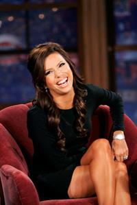 Eva Longoria the Late Late Show with Craig Ferguson in Los Angeles