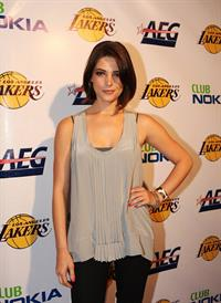 Ashley Greene at the Lakers official championship victory celebration at Club Nokia in Los Angeles, California