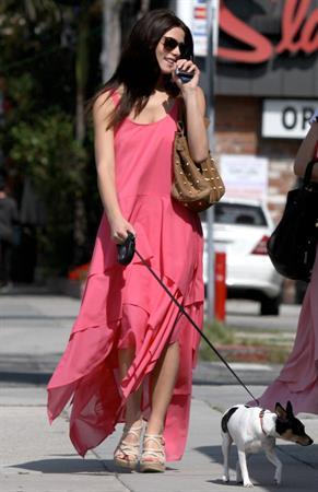 Ashley Greene outside Toast Restaurant in Los Angeles on June 13, 2012