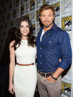 Ashley Greene Twilight Saga Breaking Dawn at San Diego Comic Con on July 12, 2012