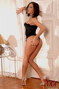 Mya Diamond in lingerie - ass