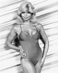 Loni Anderson in a bikini