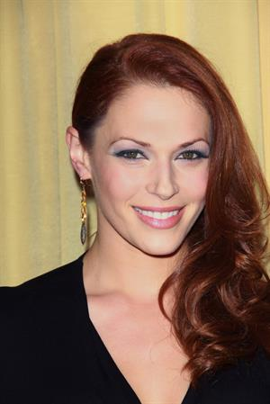 Amanda Righetti Forevermark and Instyle Golden Globes event 10.01.12