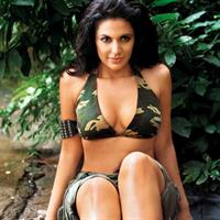 Mandira Bedi in a bikini