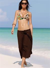 Hilary Rhoda in a bikini