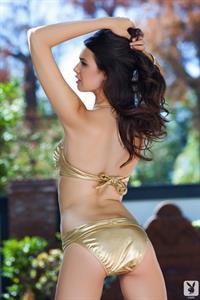 Jasmine Andreas in a bikini