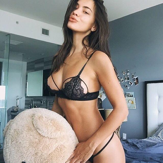 Gia Radionova in lingerie