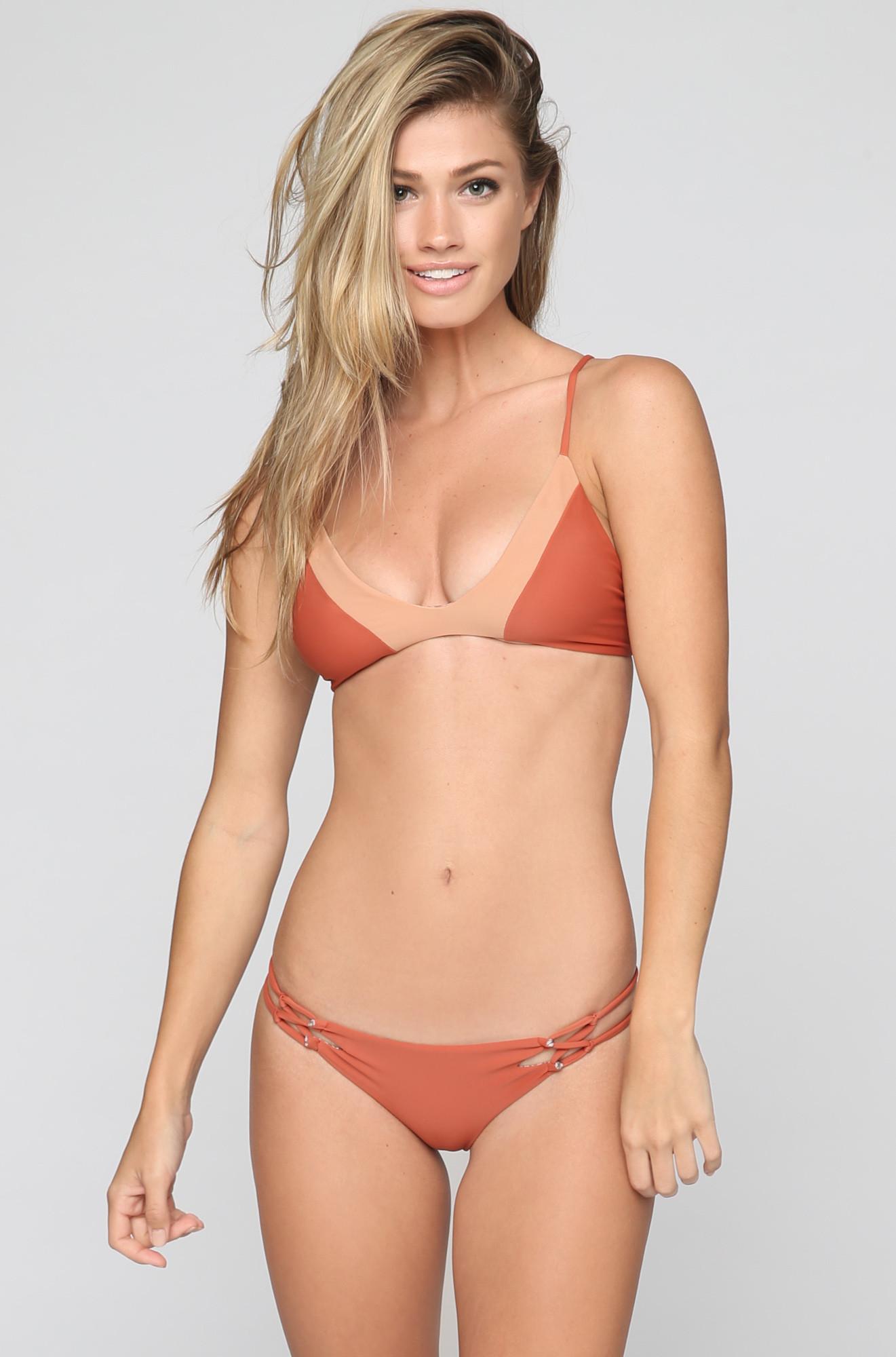 Maggie Rawlings in a bikini